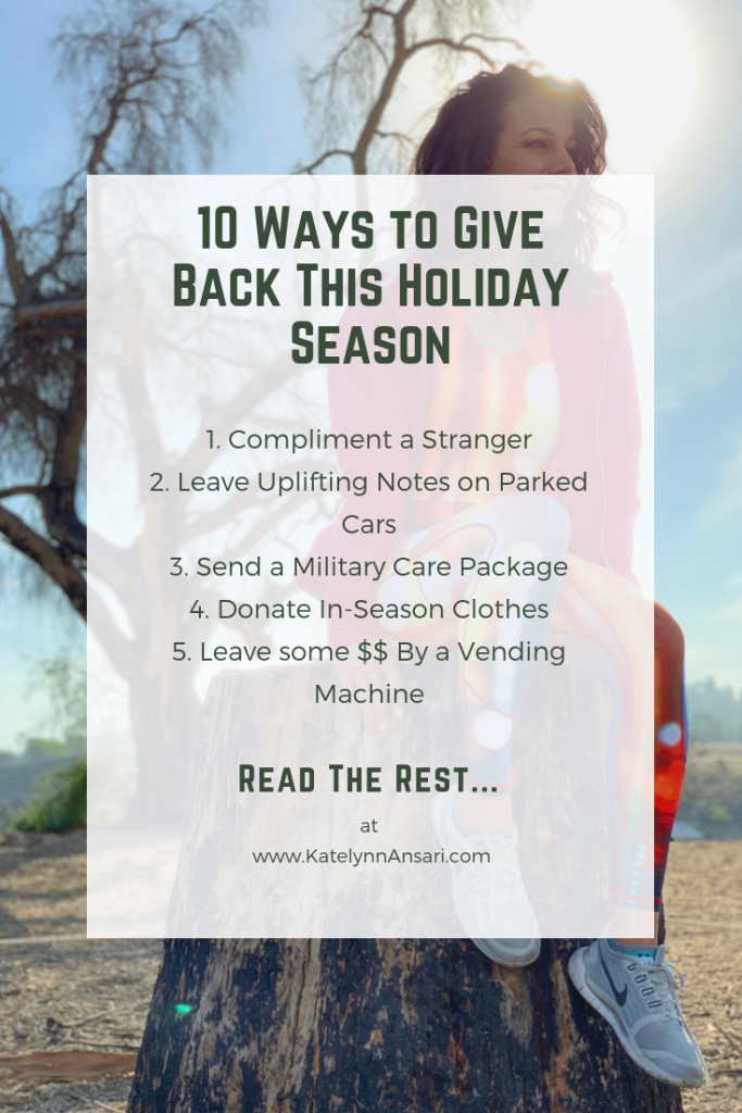 How To Give Back When You Don't Know How ----- AfterShokz, Headphones, Fitness, Giving Back, Christmas, Holidays, Thanksgiving, Contest, Nominee, Orange County, Influencer, Christmas Shopping
