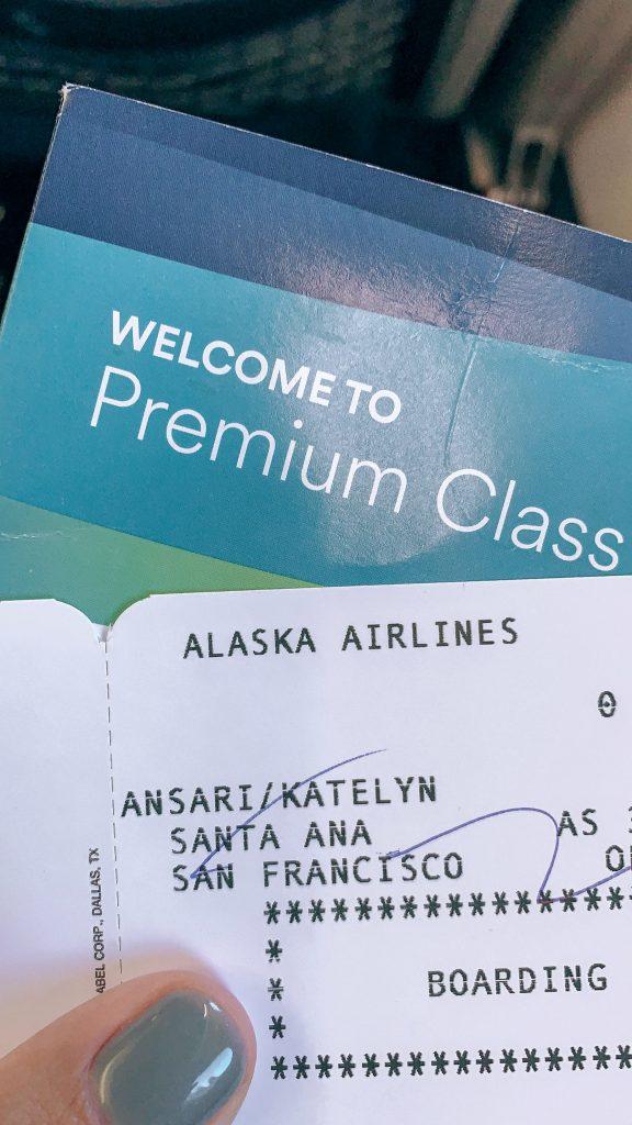 Alaska Air, Traveling, San Francisco, Traveling to SF, Honeymoon