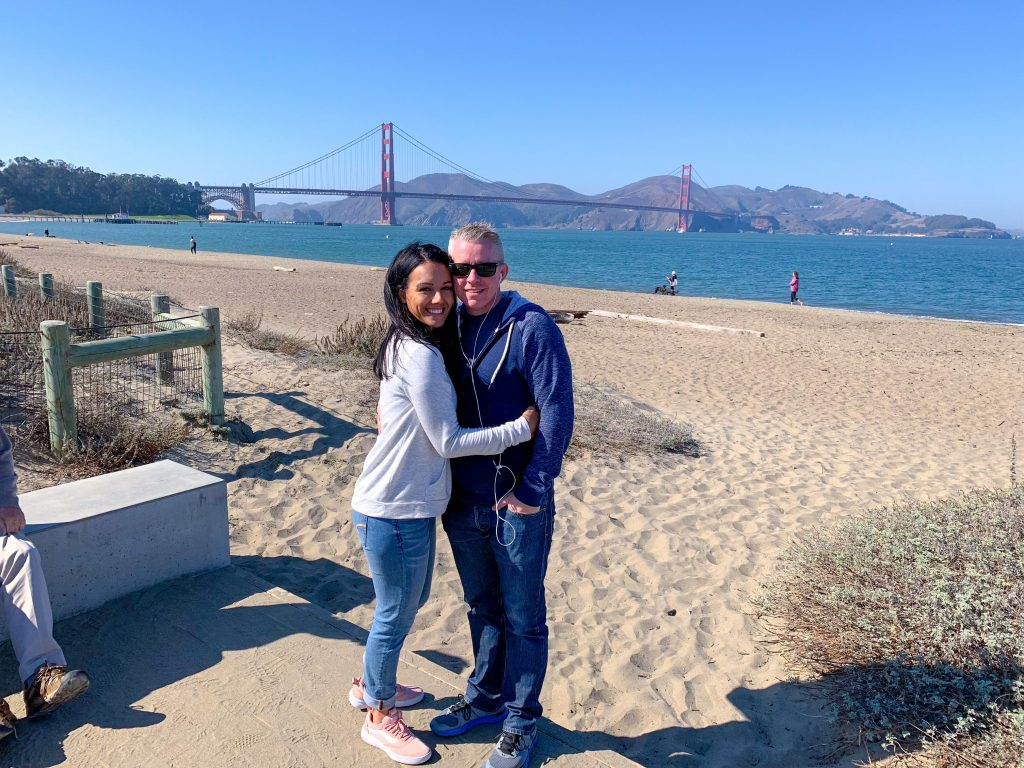 My husband, Honeymoon, SF Honeymoon, Where to eat in SF, Where to stay in san francisco, i love to travel, influencer, married, traveling, vacation, golden gate bridge
