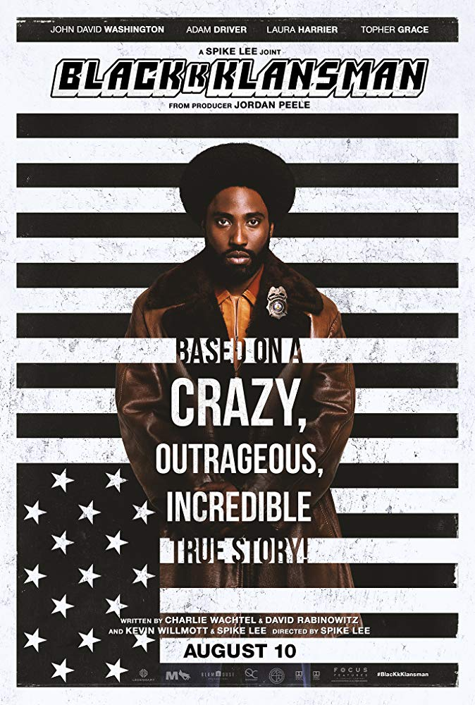 Movie Review Friday: Blackkklansman