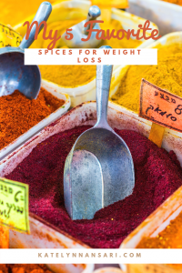 My 5 Favorite Spices For Weight Loss