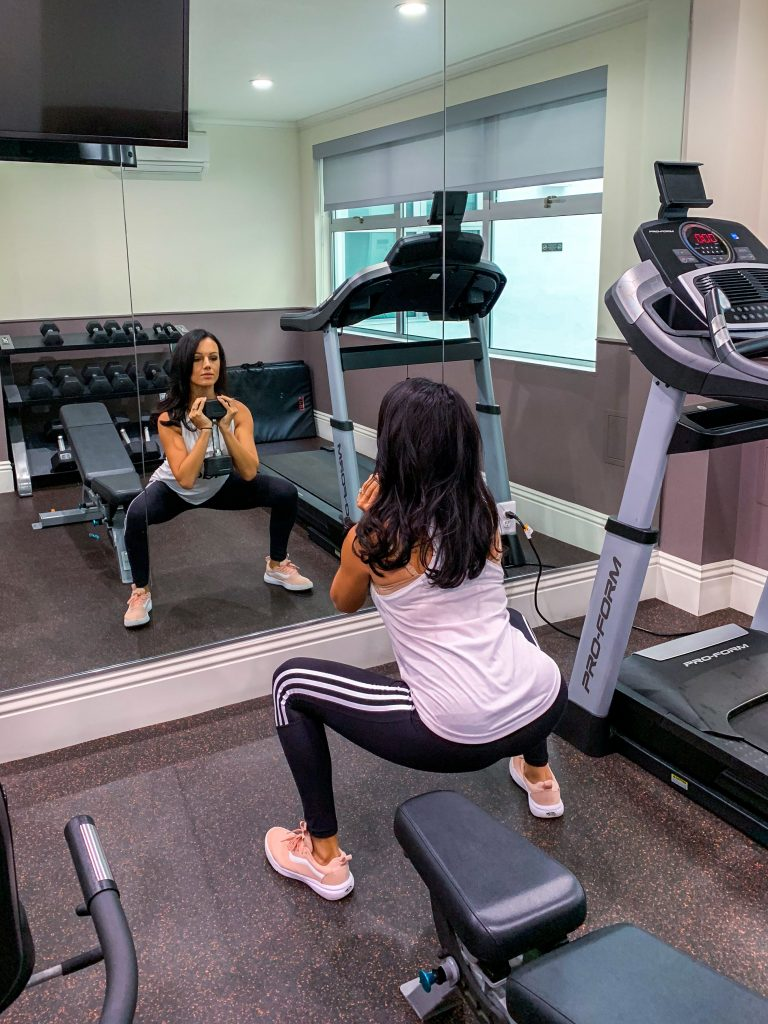 How To Get A Good Workout in a Hotel Gym (Or Even In Your Room)